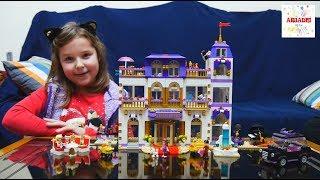 LEGO FRIENDS GRAND HOTEL 🏨 επιτραπέζια παιχνίδια για παιδιά ελληνικά greek