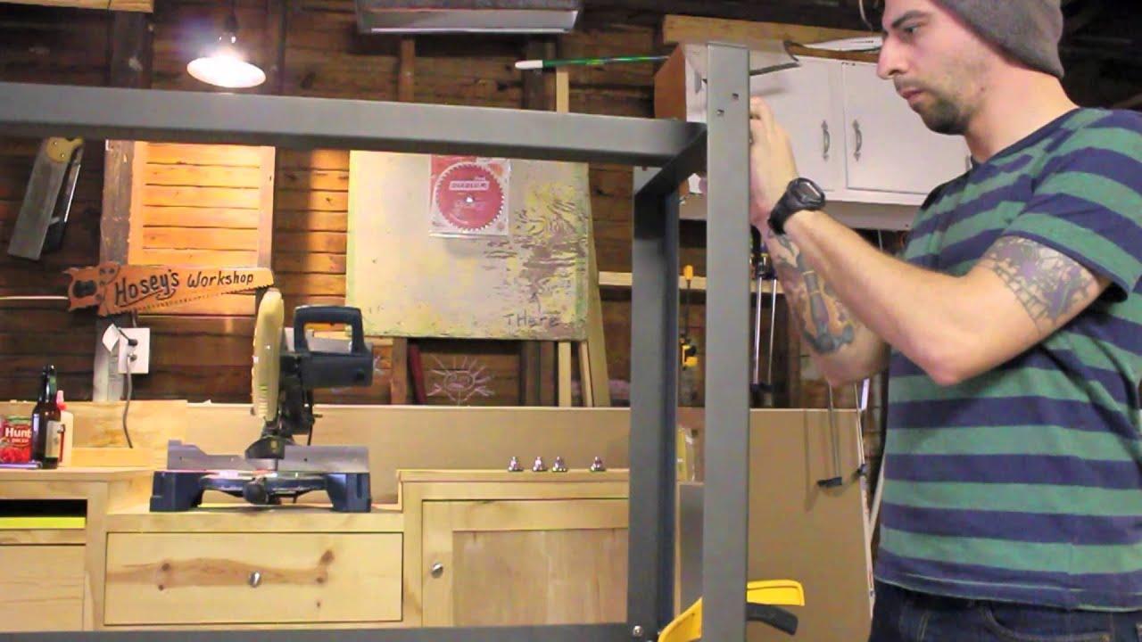 I Semble Steel Furniture Frame Kits Patrick Hosey Youtube