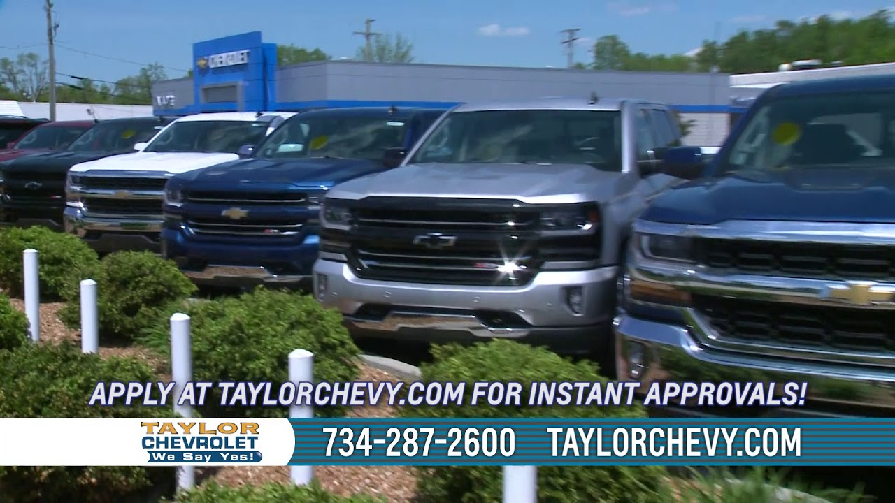 Taylor Chevrolet is a Taylor Chevrolet dealer and a new car and used