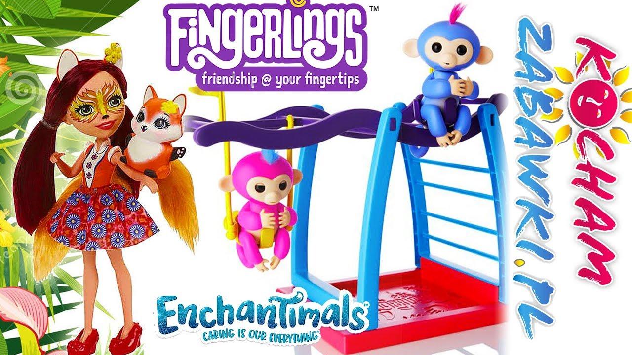 Enchantimals • Zoo & Zabawne Małpki • Fingerlings • bajki po polsku