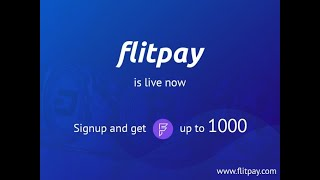 EARN 1000 FLITPAY TOKEN I SIGN ON FLITPAY EXCHANGE AND MUST COMPLETE KYC TO EARN 1000 FLT TOKEN I