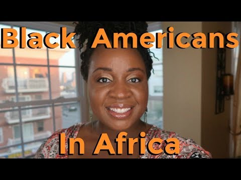 African Americans In Africa | Black Americans Going To Africa | David West NBA Player  | It's Iveoma
