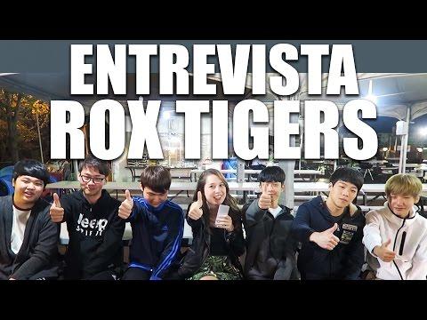 CONHEÇA O TIME ROX TIGERS - TIME PROFISSIONAL DE LEAGUE OF LEGENDS