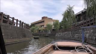 2016 06 26利根川沿い 川の駅水の郷さわらより小江戸佐原へさっぱ舟で移動