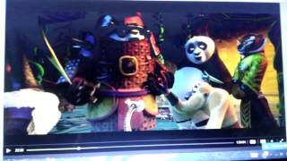 Kung fu panda 3 I'm in love with a monster triple ho show