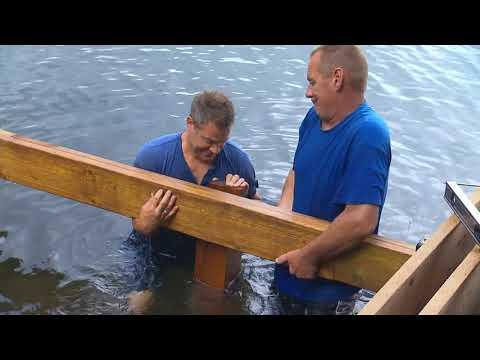 Building a Shoreline Deck