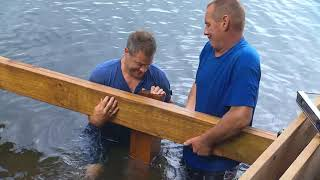 Building A Shoreline Deck