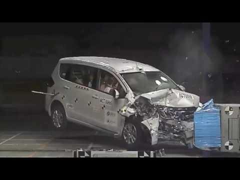 Uji Tabrak Grand New Avanza Konsumsi Bbm 2018 Suzuki Ertiga By Asean Ncap Youtube