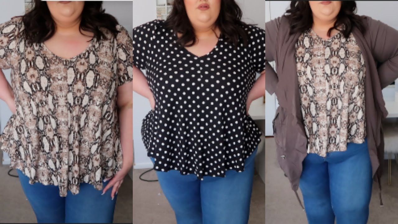 5874aad0f4f62 Spring Plus Size Try On Haul ft. TJMAXX - YouTube