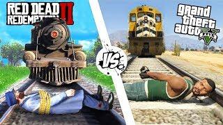 Приколы в Red Dead Redemption 2 | WDF 138 | ПОЕЗДЕЦ ПРОДОЛЖАЕТСЯ!