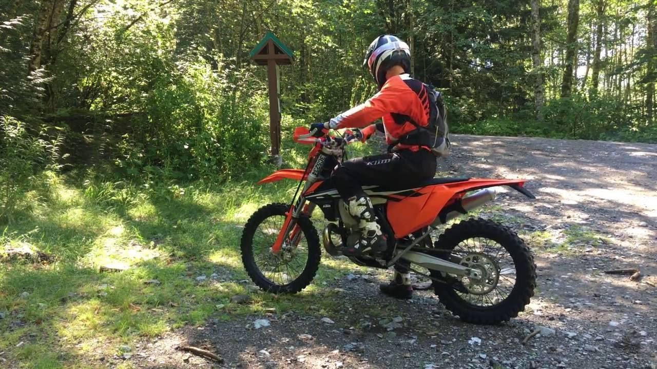 2017 ktm 300 xcw ride and setup - youtube