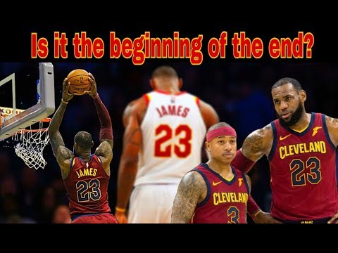 After ugly loss in Toronto, is it the beginning of the end for Lebron in Cleveland?