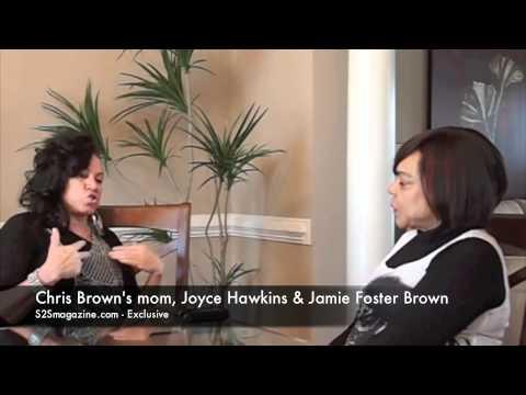 Chris Brown's mom, Joyce Hawkins, talks girls and 'GMA'