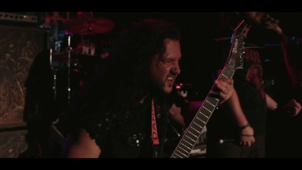 BLOOD RED THRONE - New video live in Las Vegas
