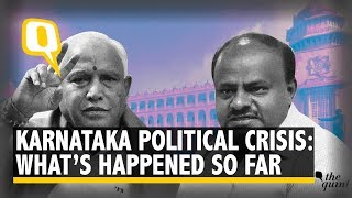 Karnataka Political Crisis: 13 MLAs Quit; BJP Demands CM's Resignation | The Quint