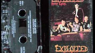 Exploited- Forty Odd Years Ago 1985 (UK Dark HC )