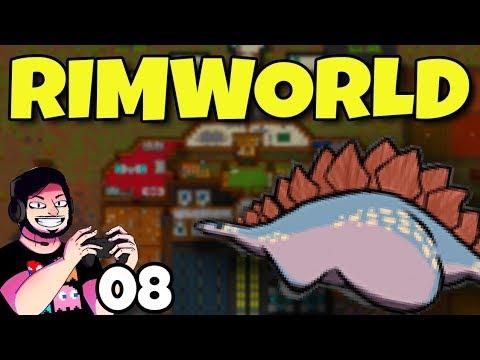 Malária e Fogo #08 | Rimworld | Gameplay em Português PT-BR