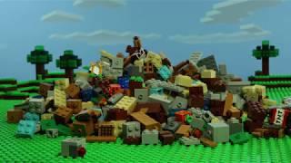 Crafting Box 2.0 -  LEGO Minecraft - Stop Motion