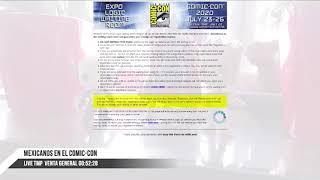 Resumen - LivePodcast Venta General San Diego Comic Con 2020