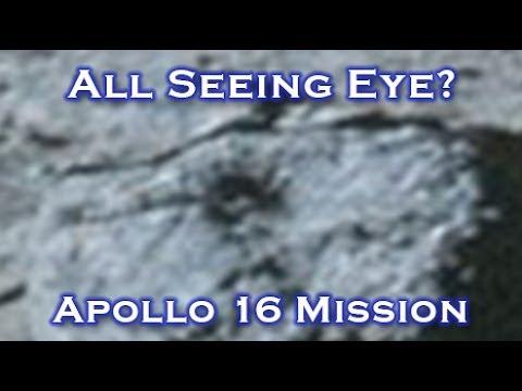 All Seeing Eye Found On Rock In Iconic NASA Apollo 16 ...