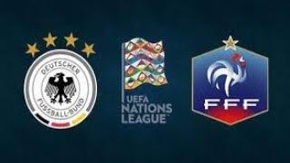 GERMANIA-FRANCIA UEFA NATIONS LEAGUE CRONACA REACTION LIVE STREAMING