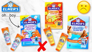 NEW Elmer's Slime Kİts Honest Review! Is it worth it?! 🤐