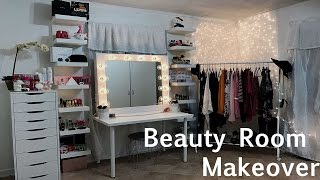 EXTREME Beauty Room Makeover! | 2017