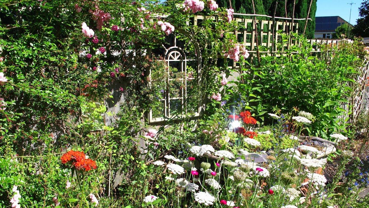 The Cottage English Garden In Surrey Summer Youtube