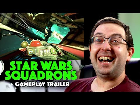 REACTION! Star Wars: Squadrons Gameplay Trailer – EA Video Game 2020