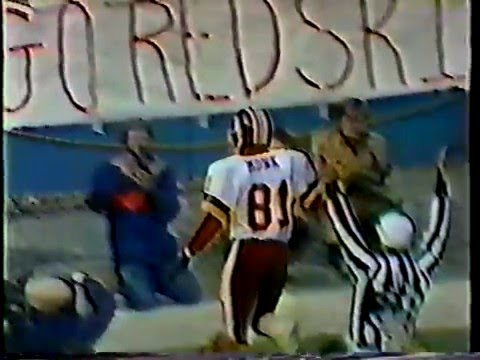 65- Joe Theismann 40yd pass to Art Monk