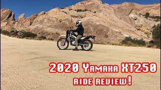 moto Press Play Episode10 Yamaha XT250 2020 Ride Review! Dual Sport Bike