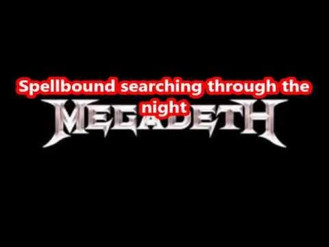 Megadeth  SheWolf lyrics