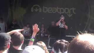 mc chris - Pizza Butt [Vans Warped Tour Denver 8-3-2014]