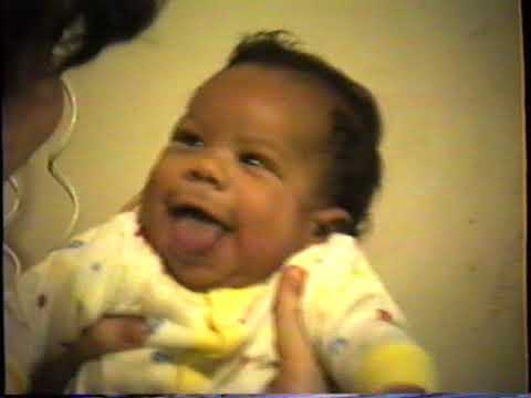 tyler Gordon as a baby Armstrong CT Greenwich CT early 1990's
