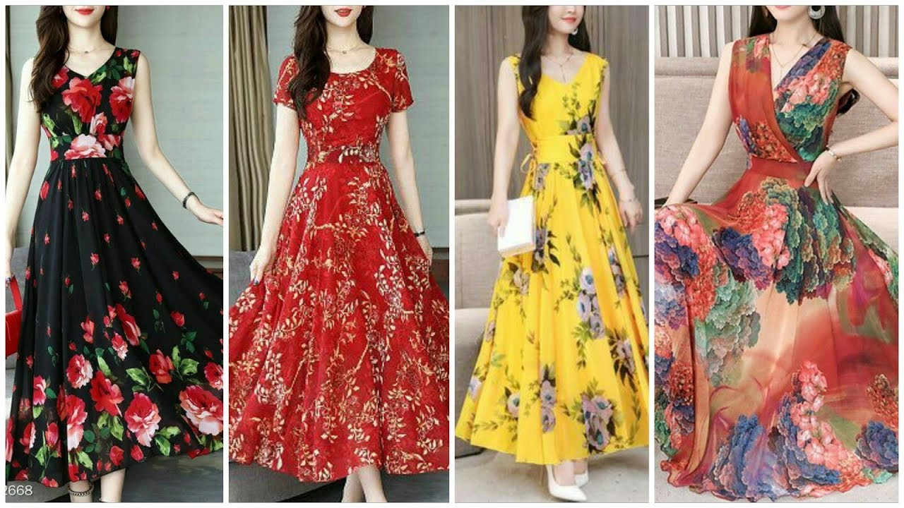 50 Gowns Designs Top Beautiful Long Frock Design Frock Designs For Girls Youtube