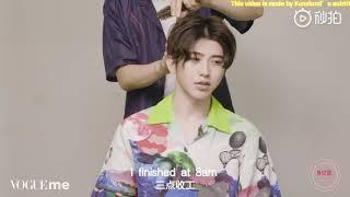 Eng Sub【蔡徐坤/CAI XUKUN】Vogueme interview