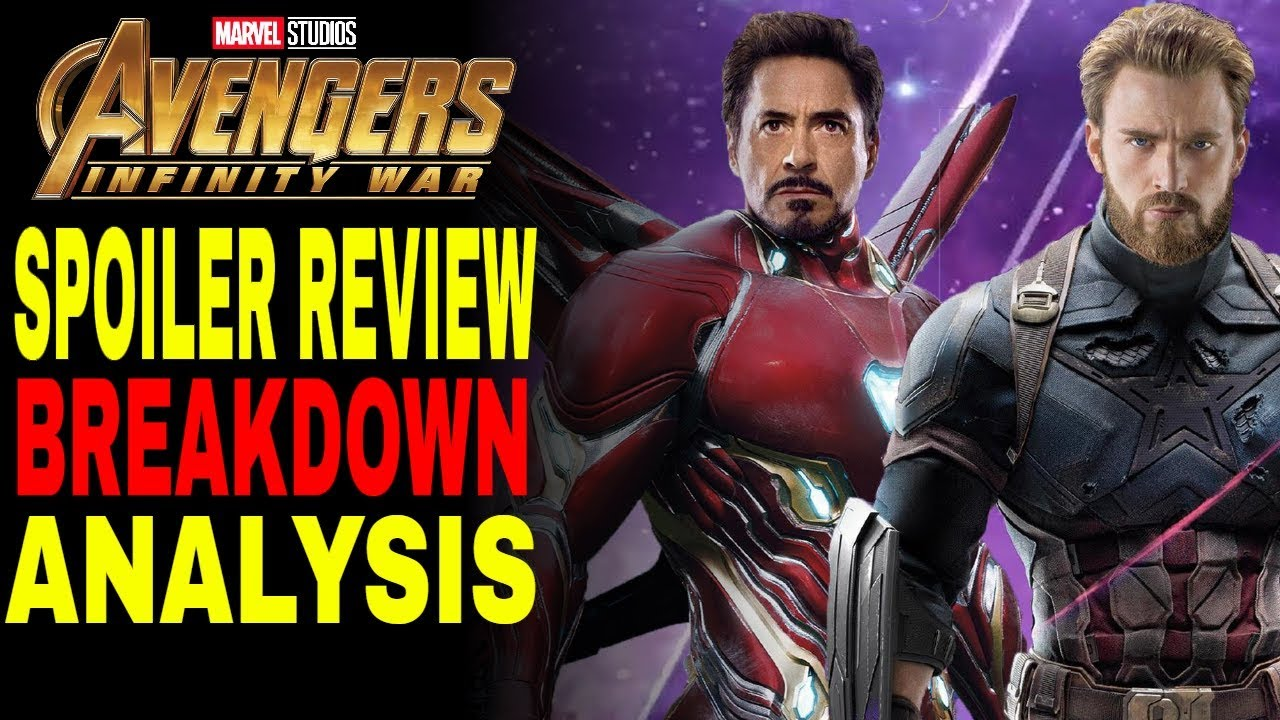 Avengers Infinity War: Spoiler Review (Breakdown & Analysis)