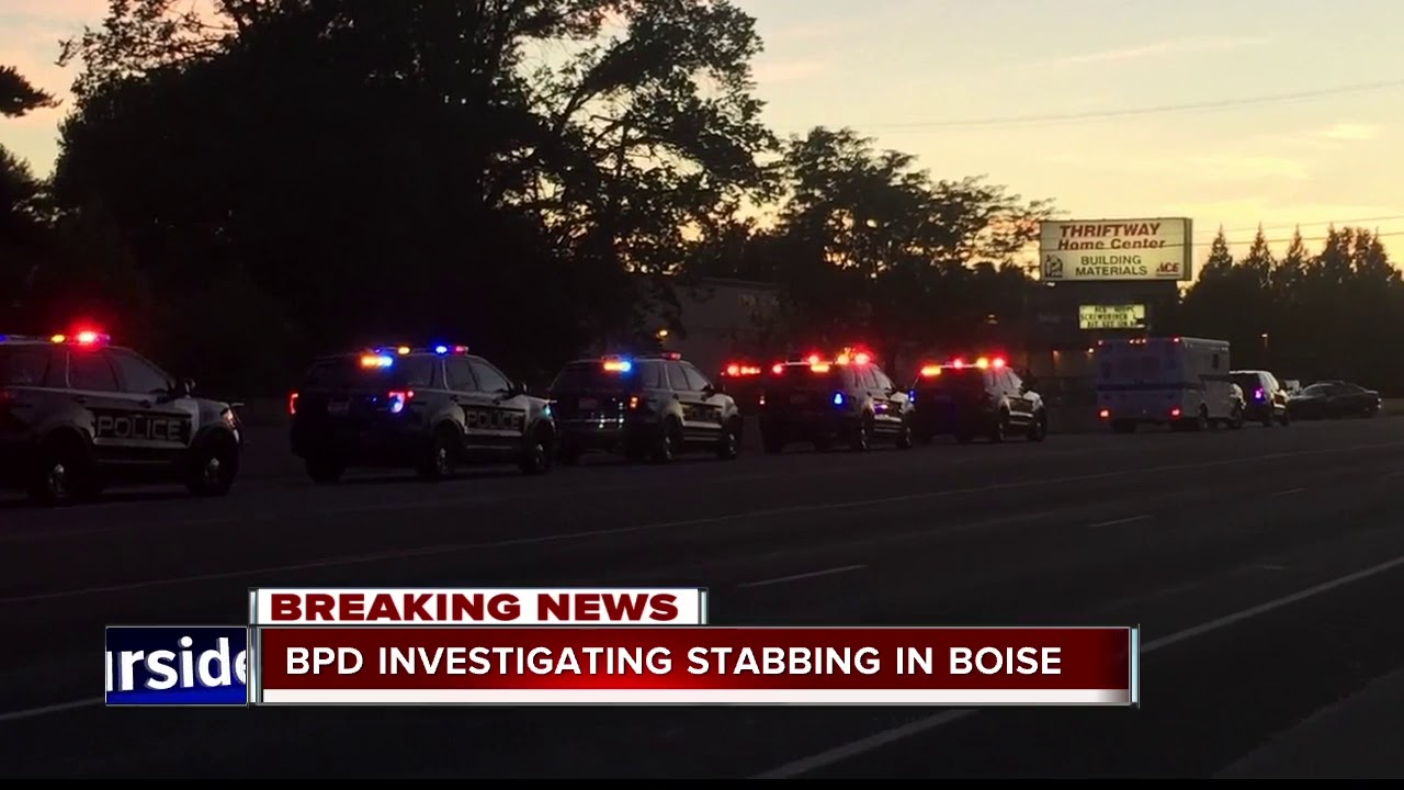 Boise Police Investigating Stabbing on State Street