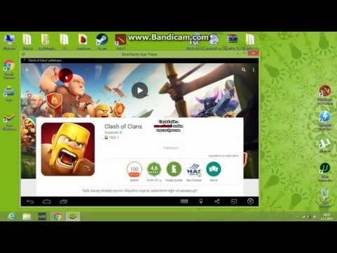 Clash Of Clans Bluestacks + Bot Kurulumu