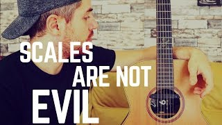 The Most AWESOME Wąy to Practice SCALES on Guitar