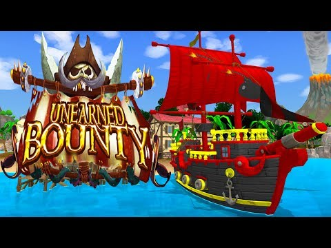 PIRACY ON THE HIGH SEAS! - Competitive Ship Combat Game! - Unearned Bounty Alpha Gameplay