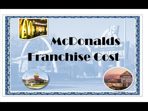 McDonalds Franchise Cost