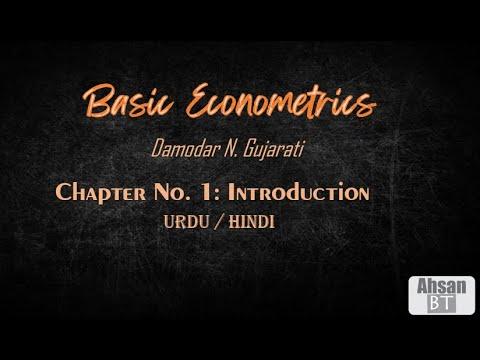 Basic Econometrics By D H Gujarati Introduction Urdu Hindi