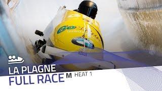 La Plagne | BMW IBSF World Cup 2019/2020 - 2-Man Bobsleigh Heat 1 | IBSF Official