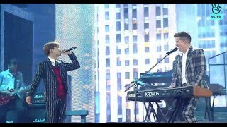 Jungkook & Charlie Puth - 'WE DON'T TALK ANYMORE' Live (MBCPLUS X genie music AWARDS)