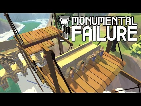 Totally Accurate Construction Simulator! Stonehenge + Roman Aqueduct - Monumental Failure Gameplay