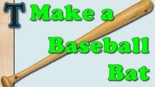 Making A Baseball Bat With The Lathe Duplicator