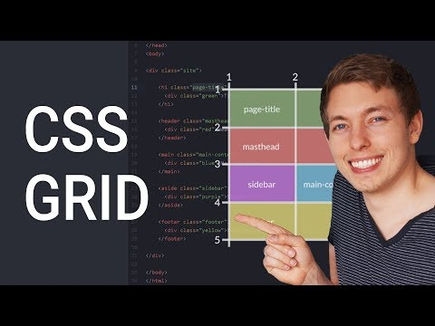 How to Create Website Layouts Using CSS Grid | Learn HTML an
