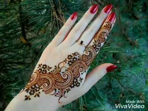 Mehndi Design Image Mp4 Easy Mehndi Design
