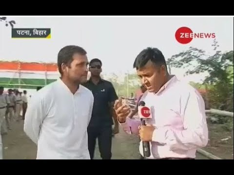 Watch Zee News exclusive conversation with Rahul Gandhi